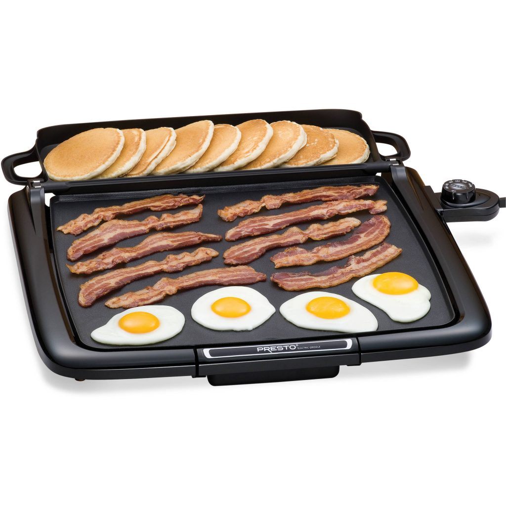 Indoor electric griddle